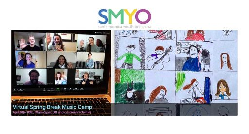 Santa Monica Youth Orchestra Virtual Mini-Camp Featured in the SMDP